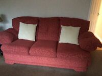3 piece suite - sofa & 2 chairs