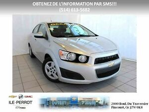 2012 CHEVROLET SONIC LT, AUTOMATIQUE, BLUETOOTH West Island Greater Montréal image 1