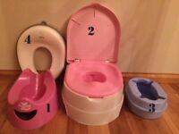 4 potties in one package
