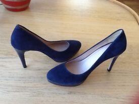 Navy M&S High Heels