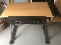 Harley's fully adjustable drawing board table