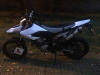 Yamaha WR125X For Sale. Extremely clean example.
