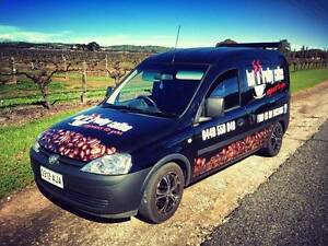 Hot 'N' Frothy coffee van and run for sale Hillbank Playford Area Preview