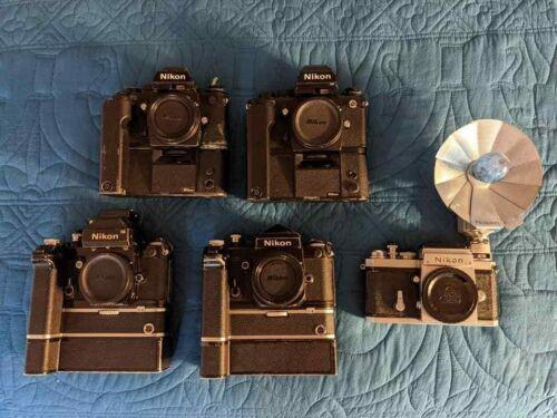 Nikon F F2 F3