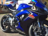 GSXR 600 K7 TT LIMITED EDITION only 4000 mls from new totally standard rides like new