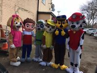 MASCOT COSTUME HIRE, MEET AND GREET, SWEET HAMPER DELIVERY