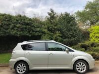 TOYOTA COROLLA VERSO AUTOMATIC, 54 REG, 98K MILES, LEATHER, CAMERAS, SAT NAV, DVD, DELIVERY AVAILABL