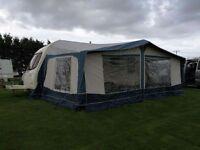 classic Bradcot caravan awning size 1005