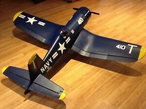 Radio controlled Model Airplane  -F4U Corsair -