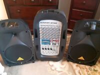 Behringer EPA900 Europort 900W 8 Channel Portable PA System