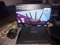 NETGEAR Nighthawk AC1900 Smart WiFi Router - R7000