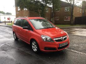 Vauxhall Zafira Design Tow Bar 7 Seats 1.8L