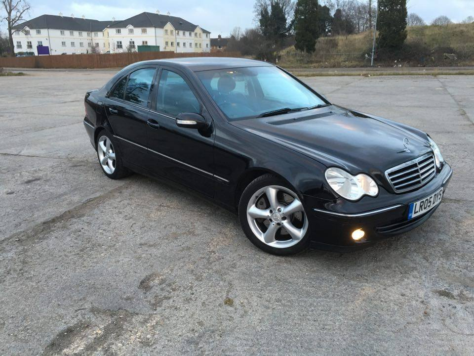 2005 mercedes benz c class c270 cdi avantgarde 7g tronic saloon w203 face lift swap p x possible. Black Bedroom Furniture Sets. Home Design Ideas