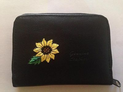 Разное Sunflower Design Leather Wallet Credit