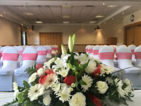 Venue Decoration Hire. Package prices available, we can work to any budget.