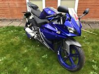 Yamaha YZF R125 - Blue *EXTREMELY LOW MILEAGE*
