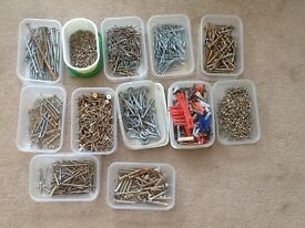 Selection of screws