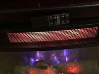 Media Mantle Fireplace dark wood from Costco RRP £599.99 + VAT