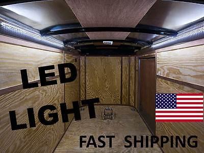 fancy race car hauler overhead digital led light kit interior overhead. Black Bedroom Furniture Sets. Home Design Ideas