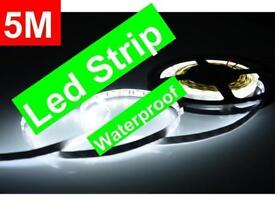 LED LIGHT STRIPS WATERPROOF INTERIOR DECORATION DIY LIGHTING 5M 300 BULBS FLEXIBLE FOR HOME AND CAR