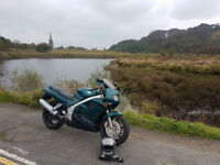 honda vfr 750 long mot motorbike sports bike