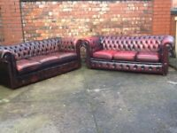 Leather chesterfield sofas and chairs wanted any colour any condition wanted to buy today £££££