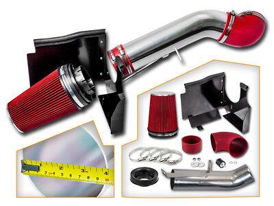 Cold Heat Shield Air Intake + RED Filter for 99-06 Silverado 1500 4.8L/5.3L V8