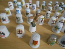 75 Sewing Thimbles, a nice collection. only £10 the lot - Park North, Swindon