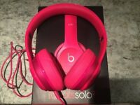 Beats Solo 2 Headphones with Box