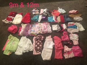 9 month & 12 month baby girls clothing