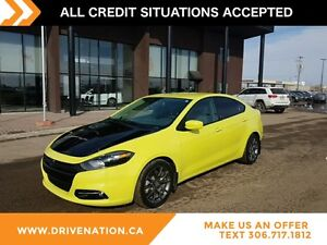 "2013 Dodge Dart SXT/Rallye 6 SPEED 17"" ALLOY WHEELS SECURITY..."