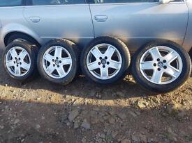 "VW Sharan,Ford Galaxy,Seat Alhambra,16""Alloys,to Fit Audi,Seat,Skoda,etc"
