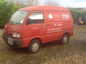 Piaggio porter 1.3 van 2006 with only14700 miles local trust owned