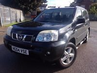 NISSAN X-TRAIL 2.2 DCi SVE 5dr ESTATE **SERVICE HISTORY**FULL LEATHERS**GOOD EXAMPLE**P/X TO CLEAR**