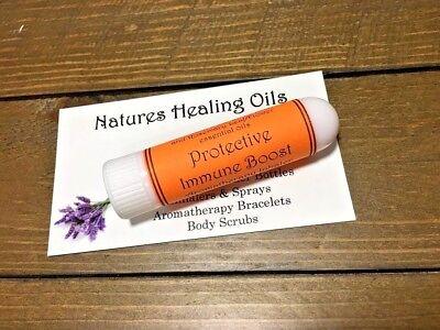 Protective Blend Inhaler~Immune Boost Blend~Aromatherapy Inhaler~Open Airways