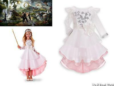 Disney Store Glinda Deluxe Costume Gown Oz The Great and Powerful Size 4 5 6 NWT](Deluxe Glinda Costume)