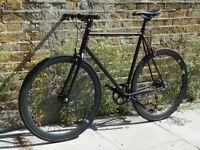 Brand new single speed fixed gear fixie bike/ road bike/ bicycles + 1year warranty & service 12wq