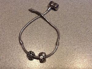 Silver Pandora charms and a bracelet Wellington Point Redland Area Preview