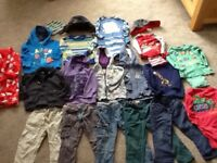 Boy 1.5 to 2 year old clothes bundle next and boots