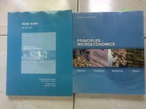 Principles of Microeconomics 4th edition and Study Guide