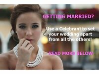 Professional independent celebrants with many years' experience of conducting over 1,000 ceremonies