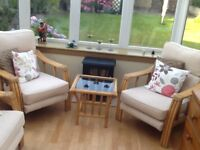 Fine Quality Conservatory Chairs furniture in excellent condition