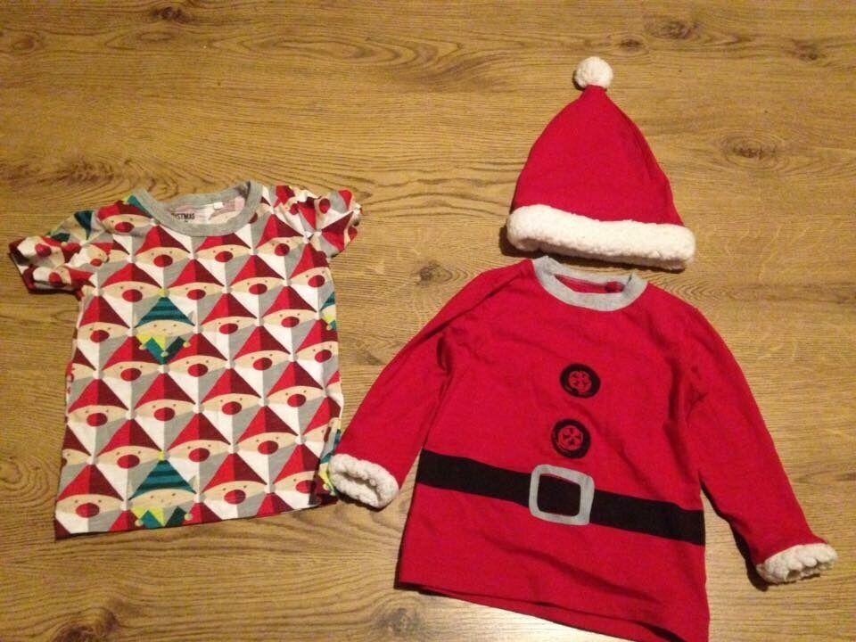 Boys Christmas tshirts from next