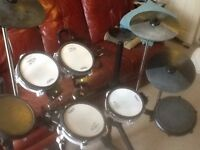 Roland TD8K Electronic Drum kit. Cases, Rack and extras.