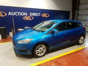 2015 Ford Focus SE HATCHBACK, LOW KM, FACTORY WARRANTY