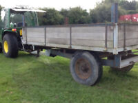 3 ton tipping tractor trailer