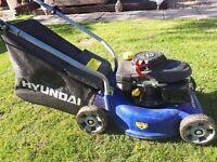 hyundia petrol lawn mower
