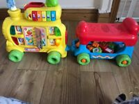 Toddlers Ride On Musical & Activity Train