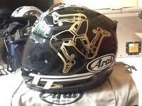 Arai TT motorcycle helmets wanted 2010,2007'2011 excellent money paid for VG COND