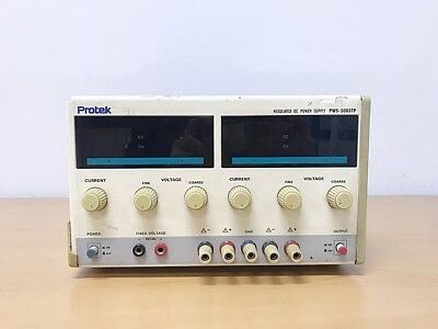 Protek Pws-3003tp 30v 3a 3ch Regulated Dc Power Supply